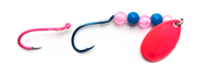Reli Lures - Kokanee Beaded Spinner - Pinky/Blue