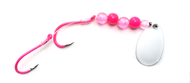Reli Lures - Kokanee Beaded Spinner - Powerful Pink