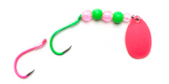 Reli Lures - Kokanee Beaded Spinner - Watermelon