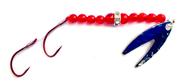 Reli Lures - Diamond Flash Spinner TM - Ruby Red