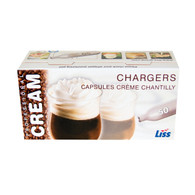 720 Liss Cream Chargers N2O European Gas 8 gram 2 cs of 360 ea  Ships Free !!