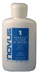 Novus Plastic Polish #1 Clean & Shine