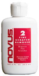 Novus Plastic Polish #2 Fine Scratch Remover