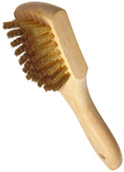 Magnolia 6B Brass Whitewall Brush Wood