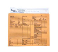 "Use these handy 9"" x 12"" manila envelope Deal Jackets for storing all of your vehicle's important papers. Protect your vehicle's records from becoming lost, torn or wrinkled. Sold in packs of 100. Prepinted for  detailed information requirements."