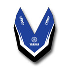 Factory Effex Front Fender Sticker for YZ125-400 93-99