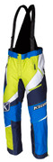 Klim 2018 Kaos Pant/Bib Snowmobile Bibs Blue Mens All Sizes