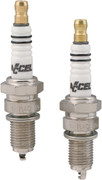 """Accel """"Cyclelite"""" Platinum Spark Plugs for Big Twin 84-00"""