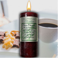 Blessed Herbal Home Blessing Candle