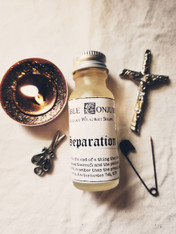 Separation, Bible Conjure Oil