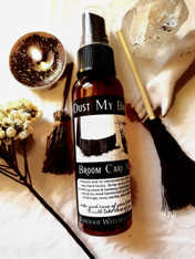 Dust My Broom, Hoodoo Housekeeping Mist for Spiritual Cleansing and Broom Maintenance