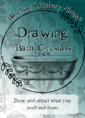 Drawing Bath Crystals