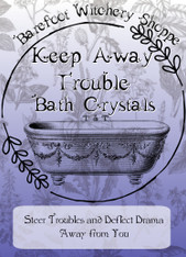 Keep Away Trouble Bath Crystals