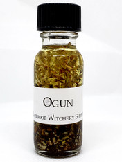 Ogun Oil, for Change, Opportunity, Strength, Clearing Obstacles, Truth, Justice