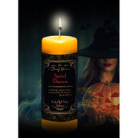 Spirited Discourse Limited Edition Candle from Dorothy Morrison's Wicked Witch Halloween Line.