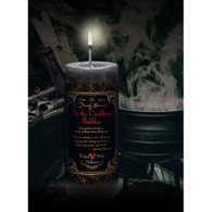 As the Cauldron Bubbles Limited Edition Candle from Dorothy Morrison's Wicked Witch Halloween Line.