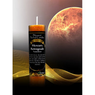 Mercury Retrograde, Blessed Herbal Candle