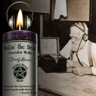 Wakin the Dead Limited Edition Candle from Dorothy Morrison's Wicked Witch Halloween Line.