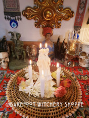 Bride & Bride Candle Working - Female, Pride, LGBT