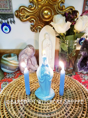 Mother Mary, Let It Be Candle Ritual for Blessing, Peace, Guidance, Protection, Multi-Purpose
