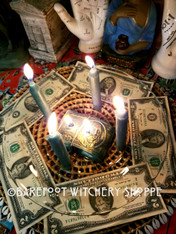 My God How The Money Rolls In, Candle Service for Prosperity