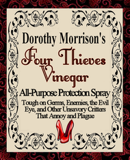 Dorothy Morrison's Four Thieves Vinegar Spray Mist, Special Edition