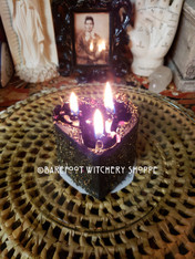 Black Heart Candle Working, For Banishing Love