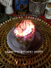 Grey Skull Candle Working, Rootwork Service, Neutralizing, Counteracting, Nullifying, Clearing, Clean Slate