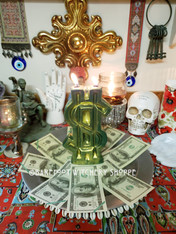 Millionaire's Dream, Candle Service for Prosperity and Wealth