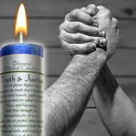 Truth & Justice, Blessed Herbal Candle