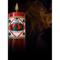 Motor City Hoodoo Fiery Wall of Protection Candle