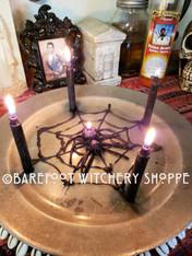 Spider Queen Candle Service, Entanglement, Web, Black Widow, Binding