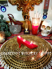 Ruby Slippers Rootwork Service, for Empowerment, Independence, Self-Love