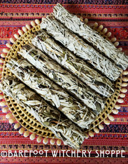 "XL Yerba Santa and White Sage Smudge Stick, 8""-9"""