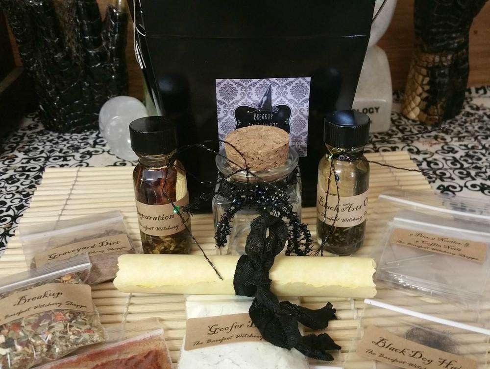 Break Up Jar Spell Kit  Separation, Divorce