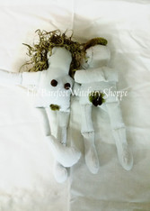 Adam & Eve Poppet Pair, Voodoo Dolls, Poppets, Dollbabies