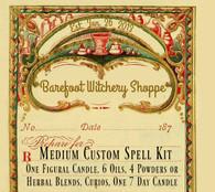 Medium Custom Spell Kit, Customized For Your Needs