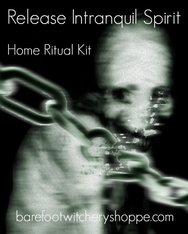 Release Intranquil Spirit, Home Ritual Kit