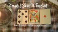 Quickie Yes Or No Card Reading