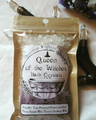 Queen of the Witches Bath Crystals