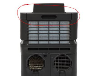 Air FILTER FRAME for ARC-122DS/ARC-122DHP