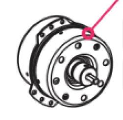 Exhaust Blower Fan MOTOR (LS-53T1-4P / WK4-30T1-J08A) for ARC-14S/ARC-141BG