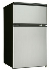 Danby Dual Door Compact Fridge With Freezer DCR326BSL