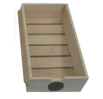 CIGAR DRAWER WITH HYGROMETER CUT-OUT FOR CWC-351DD