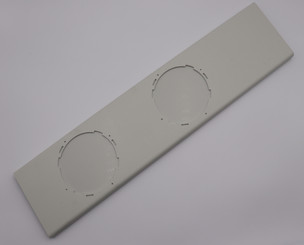 Plastic Window Kit V1 for ARC-126MD/ARC-126MDB - Dual Hose - WHITE VERSION