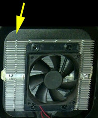 Cooling System LOWER for WC-321DD CWC-351DD (Heat Sink)