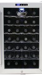Whynter WC-28S Replacement Door (N) V2 - Black Display