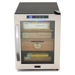 CHC-120S Whynter Stainless Steel 1.2 cu. ft. Cigar Humidor