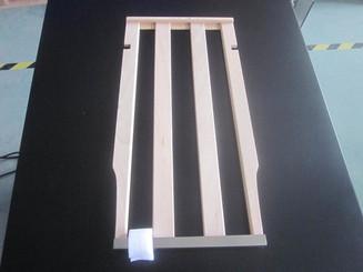 Wood shelf for BWB-2060FDS
