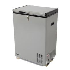 FM-951GW Whynter 95 Quart Portable Wheeled Refrigerator / Freezer with Door Alert and 12v Option – Gray